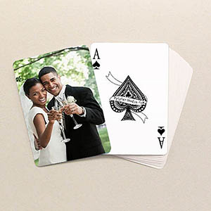 Wedding Photo Poker Size Standard Index