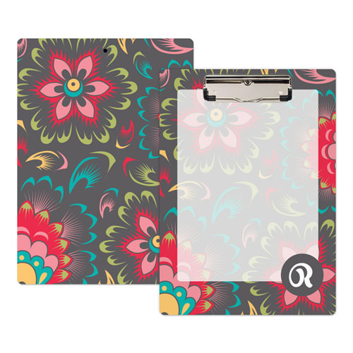 Paisley Personalized Clipboard