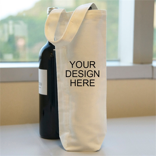 Personalized Wine Cotton Tote Bag Bag