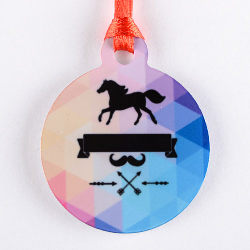 Personalized Mini Ornament Holiday Set Of 6 (Custom Front)
