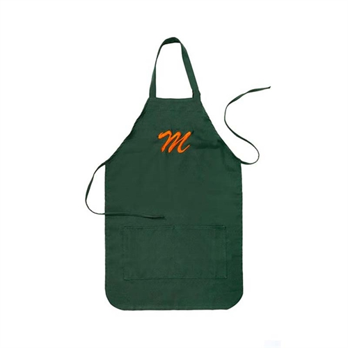 18.5 x 24 Customizable Apron with Embroidered Name, Forest