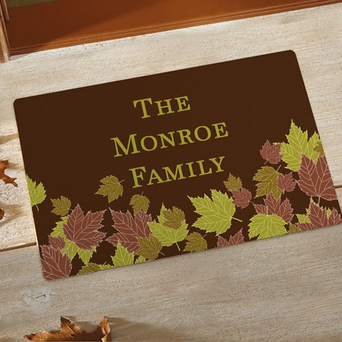 Fall Personalized Doormat
