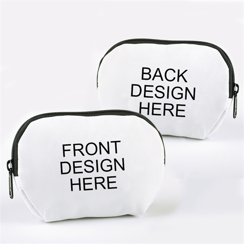 Custom Full Color Print Zipper Pouch 6X4.25 (2 Image)