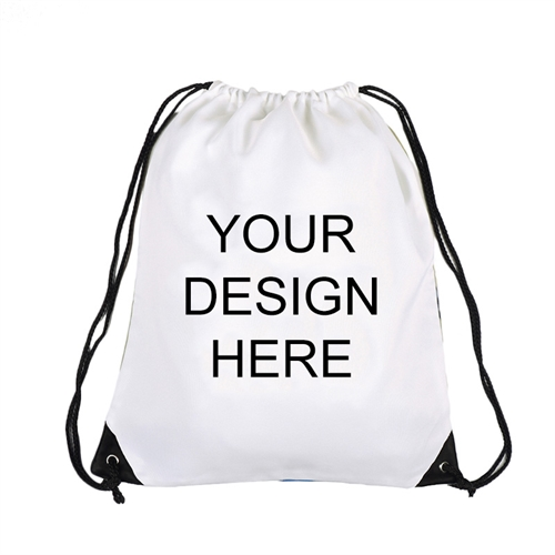 Custom Full Color Print Drawstring Backpack