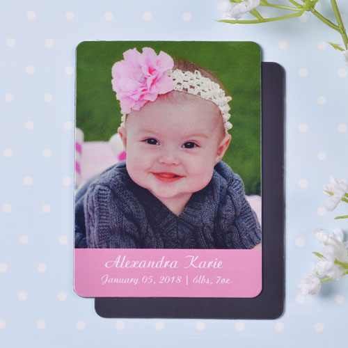 Personalized Meet Miss Birth Announcement