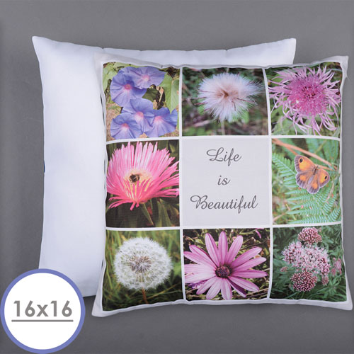 Personalized 8 Collage Photo Pillow 16