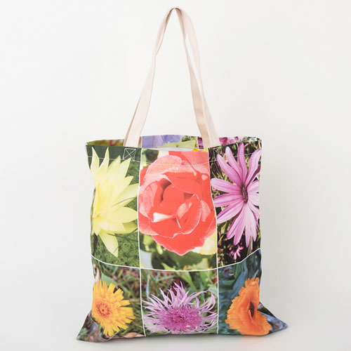 All Over Print Collage Tote Bag 16
