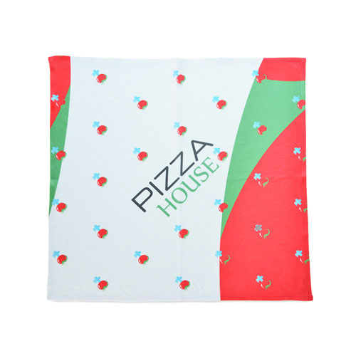 Custom Bandana With Design Artwork Full Color, 14x14 Inch