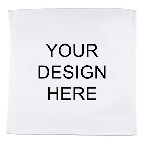 Custom Design Full Color Bandana, 22x22