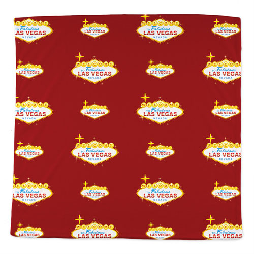 Custom Bandana With Company Logo Full Color, 14X14 Inch