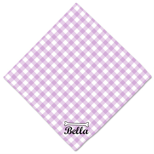 Checkers Custom Dog Name Bandanas, 20 Inch