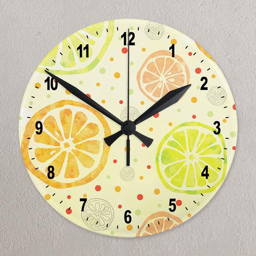 Custom Full Color Wall Clock Custom Printed