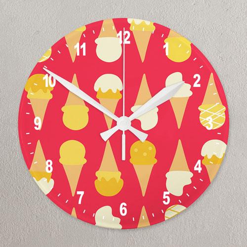 All Over Print Wall Clock Custom Printed