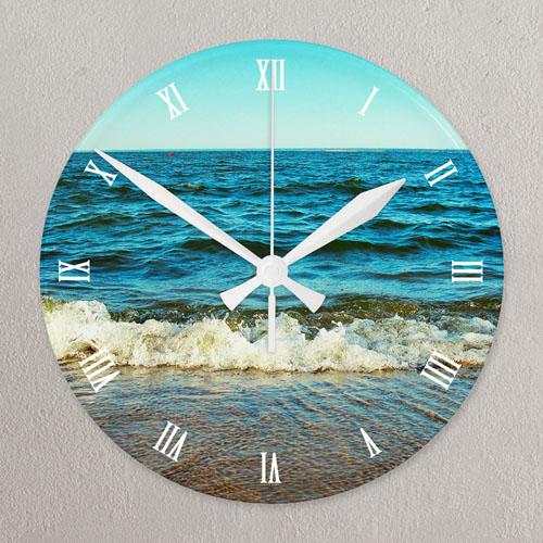 Timeless Memory Personalized Acrylic Clock Custom Printed