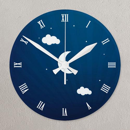 Timeless Memory All Over Print Acrylic Clock Custom Printed