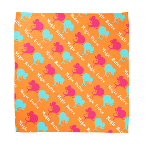 Custom Child Size Bandana With Design Artwork Full Color, 18X18 Inch_Copy