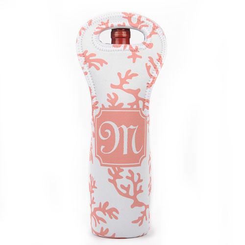 Carol Reef Personalized Neoprene Wine Tote Bag