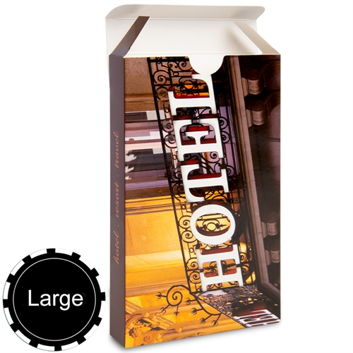 Personalized Tuck Box For Large Size Playing Cards