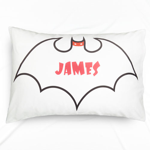 Batman Personalized Name Pillowcase
