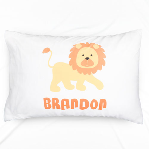 Lion Personalized Pillowcase