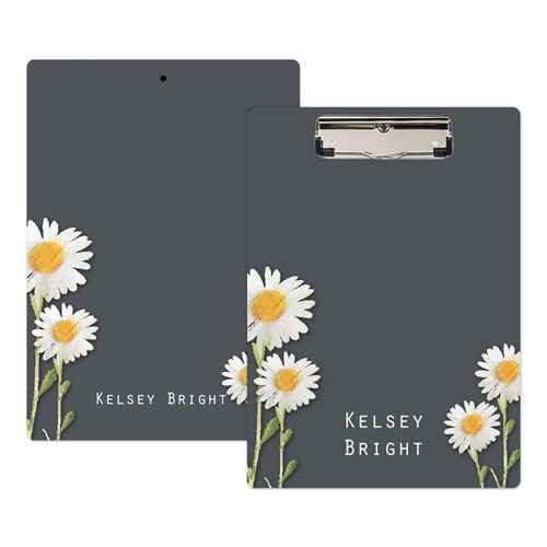 Daisies Personalized Clipboard