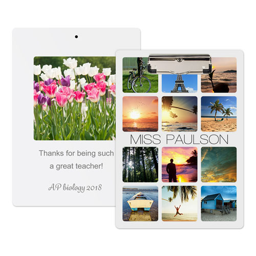 Instagram Photo Personalized Clipboard