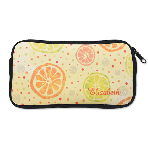 design your own neoprene pencil case custom front only