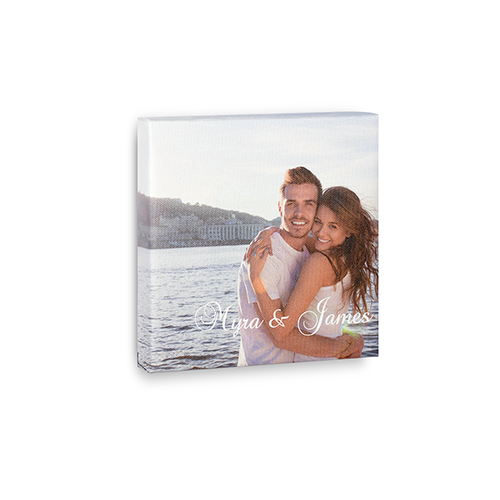 6 x 6 Personalized Photo Canvas Print