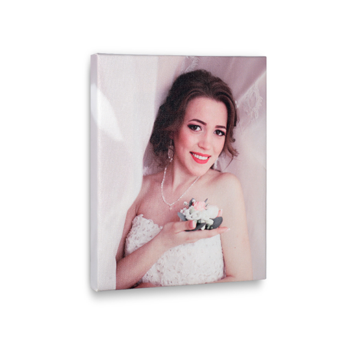 8 x 10 Custom Design Photo Canvas Print