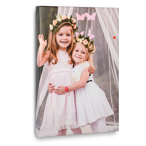 8 x 12 Design your own Photo Canvas Print