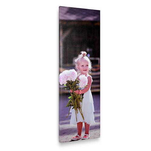 12 x 36 Custom Photo Canvas Print
