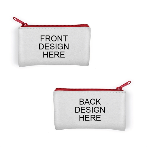 Custom Small 3.5x6 Neoprene Cosmetic Bag (Different Images)