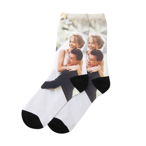 Personalized Images Unisex Socks, Medium