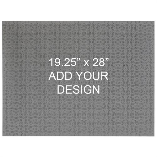 Custom 19.25 x 28 1000 Piece Jigsaw Puzzle - Landscape