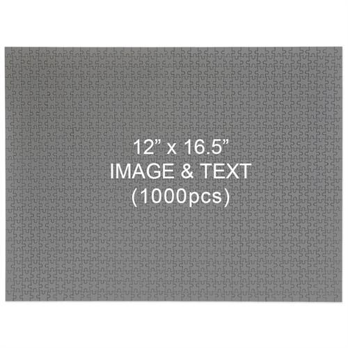 1000 Piece Custom 12 x 16.5 Jigsaw Puzzle - Landscape