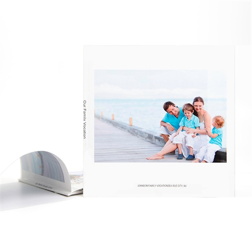 8X8 Custom Soft Cover Photo Book