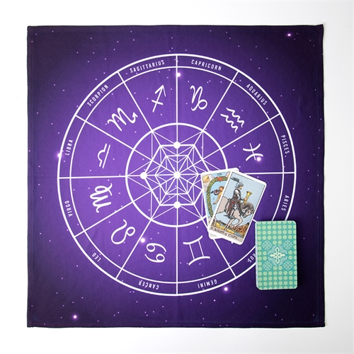 Custom Design Tarot Cloth, 22x22 inch