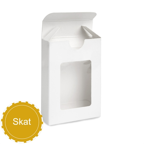 54 Skat Size Playing Cards Window Tuck Box