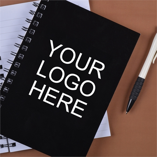 Print Your Logo Here Notebook