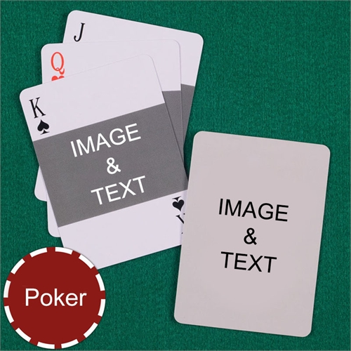 My Own Poker Landscape Photo Custom 2 Side Playing Cards