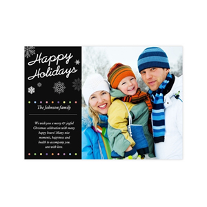 Create Your Own Christmas Greeting Cards, Happy Holiday Photo Invitations