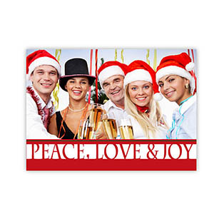 Create Your Own Seasonal Photo Cards, Merry Christmas Gifts Invitations