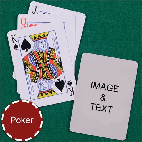 Personalized Poker Standard Index Playing Cards
