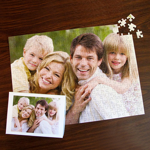 Personalized 12X16.5 Personalized Photo Puzzle Photo Puzzle