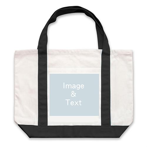 Landscape Photo Custom Large Tote Bag