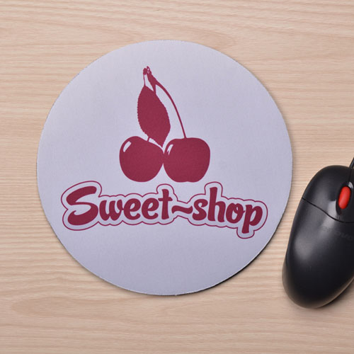 Custom Printed Round Custom Imprint Design Mouse Pad