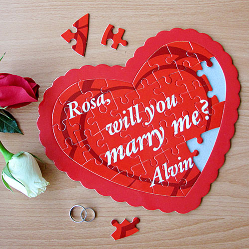 Best Ever Personalized Heart Shape Puzzle