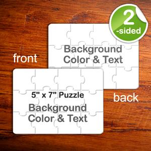 5x7 Custom Message 2-Sides