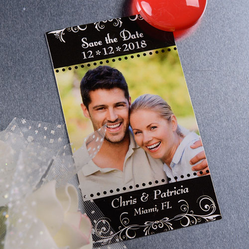 2x3.5 Blossom Save the Date Photo Magnets