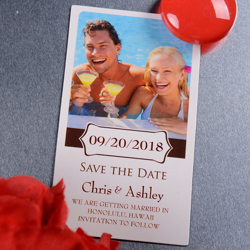 2x3.5 Bloom Save the Date Photo Magnets